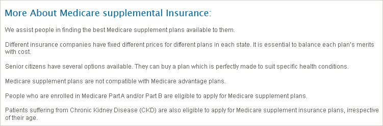 Arizona Supplemental Medicare